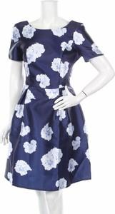 Niebieska sukienka Luxe By Dorothy Perkins w stylu casual z okrągłym dekoltem mini