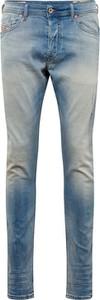 Niebieskie jeansy Diesel w stylu casual