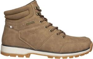 Brązowe buty trekkingowe Albatros sznurowane