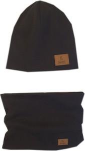 Czarna czapka Bexa
