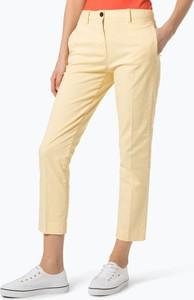 Żółte spodnie Tommy Hilfiger