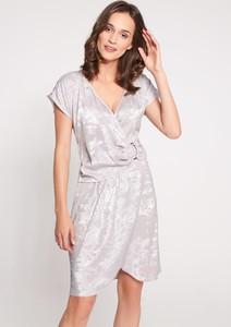 Srebrna sukienka QUIOSQUE mini