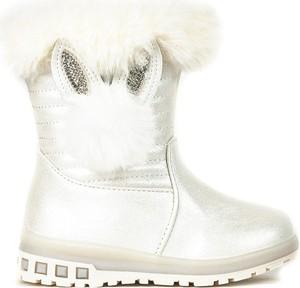 Buty dziecięce zimowe Royalfashion.pl dla dziewczynek na zamek