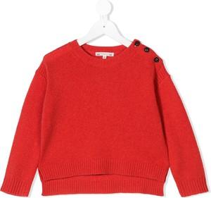 Pomarańczowy sweter Bonpoint