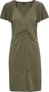 Zielona sukienka bonprix BODYFLIRT