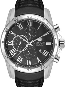 Zegarek męski Gino Rossi Exclusive - TIRAZ - 1A1