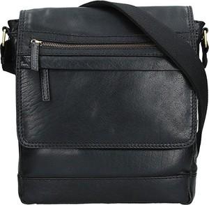 Czarna torba Lagen ze skóry