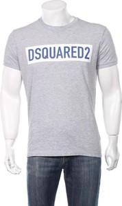 T-shirt Dsquared2 w młodzieżowym stylu z krótkim rękawem