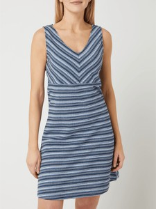 Niebieska sukienka Tom Tailor z bawełny