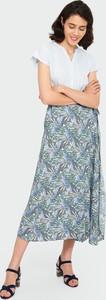 Bluzka Greenpoint w stylu casual z bawełny z okrągłym dekoltem