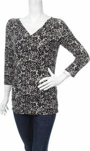 Bluzka Weekend By Maxmara z dekoltem w kształcie litery v w stylu casual