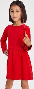 Czerwona sukienka dziewczęca Diverse
