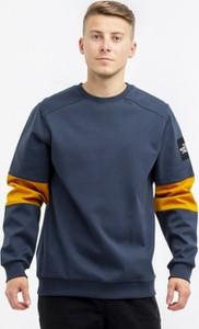 Niebieska bluza The North Face z żakardu