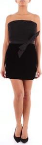 Czarna sukienka SAINT LAURENT