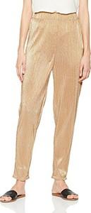 Złote spodnie Intropia w stylu casual