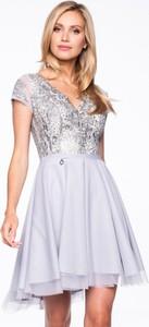 Sukienka Premiera Dona mini rozkloszowana