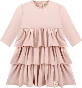 fb1cc64646 Różowe sukienki dziewczęce