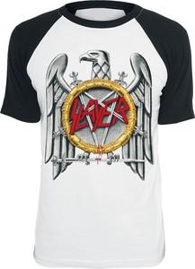 T-shirt Slayer z krótkim rękawem z bawełny w młodzieżowym stylu