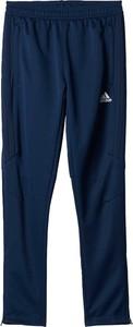 Niebieskie spodnie dziecięce Adidas