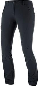 Czarne spodnie sportowe Salomon