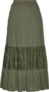 Zielona spódnica bonprix bpc selection