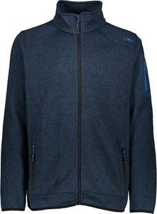 Niebieska kurtka CMP z plaru