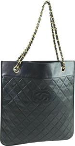 Czarna torebka Chanel duża