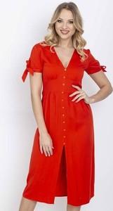 Czerwona sukienka Royalfashion.pl