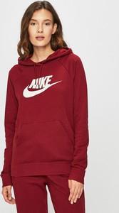 11de7933c659af Czerwona bluza Nike Sportswear z bawełny w młodzieżowym stylu