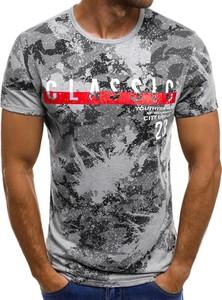 T-shirt ozonee.pl z bawełny w street stylu