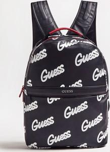 Czarny plecak męski Guess