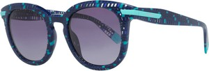 Niebieskie okulary damskie Furla