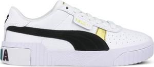 Buty sportowe Puma ze skóry w sportowym stylu sznurowane