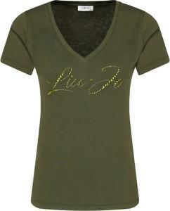 T-shirt Liu-Jo z krótkim rękawem w stylu casual