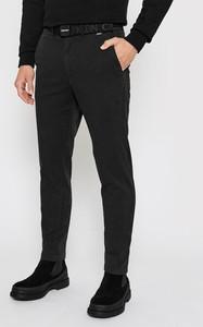Czarne chinosy Calvin Klein w stylu casual