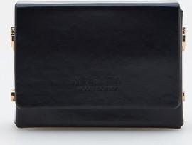 Czarna torebka Mohito w stylu glamour