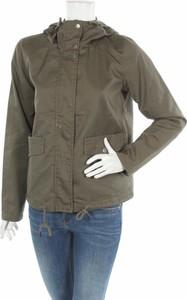 Zielona kurtka Noisy May krótka w stylu casual