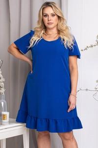 Sukienka KARKO mini z krótkim rękawem
