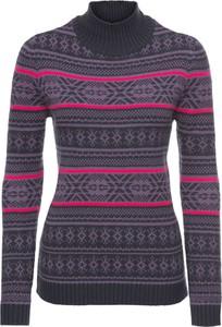 Granatowy sweter bonprix john baner jeanswear