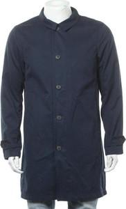 Niebieski płaszcz męski Selected Homme