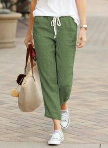 Zielone spodnie sportowe Sandbella z dresówki