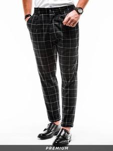 Czarne spodnie Ombre
