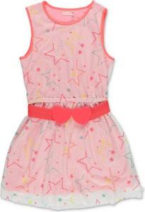 Różowa sukienka dziewczęca Billieblush