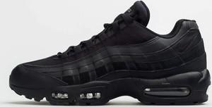 Czarne buty sportowe Nike air max 95 sznurowane