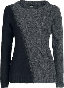 Czarna bluza Black Premium By Emp z wełny