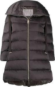 Brązowa kurtka Herno w stylu casual