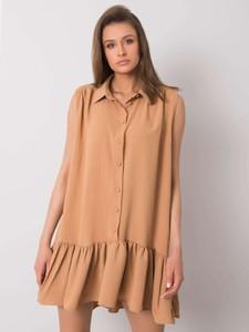 Sukienka Promese z bawełny w stylu casual mini