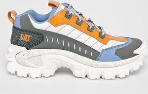 Buty sportowe Caterpillar sznurowane ze skóry