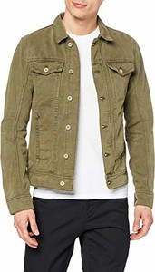 Zielona kurtka amazon.de w młodzieżowym stylu