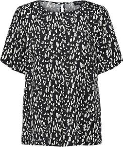 Bluzka Selected Femme z okrągłym dekoltem z krótkim rękawem
